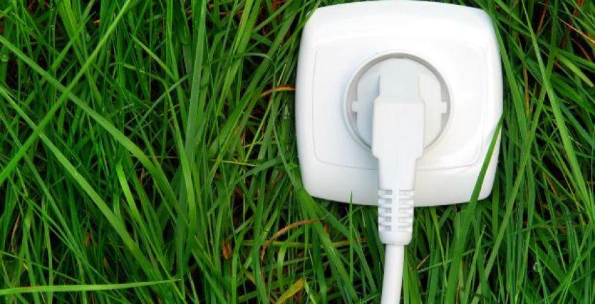 Vihreän sähkön töpseli